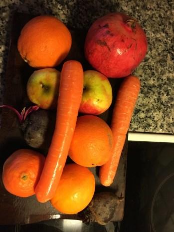 Skønne frugter og grøntsager, -økologisk