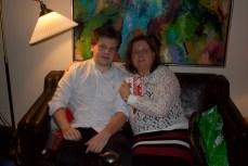 Min dejlige søn Sebastian <3 og mig