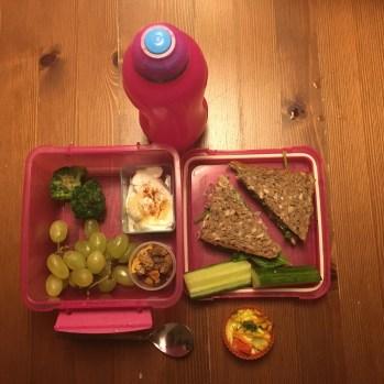Røskvas madpakke