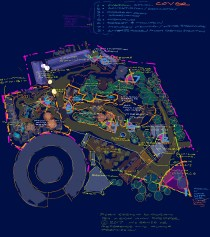 Schematic Plan Zones Diagram for Vignette preparation | author original data SD Zoo