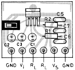 20W Bridge Amplifier PCB layout using TDA7240A
