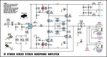 schematics: tSereo Headphone Amplifier