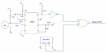 Tone Detector circuit diagram schematic