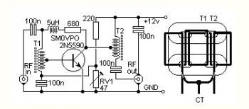 Radio Frequency Amplifier: 4W HF Bands QRP RF Linear Amplifier