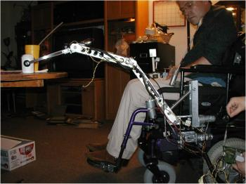 wheelchair robot