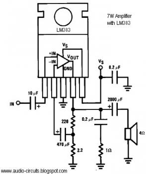 Audio Circuits: September 2009 » amplifier circuit