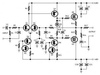 Audio Amplifier Circuit: June 2011 » power amplifier