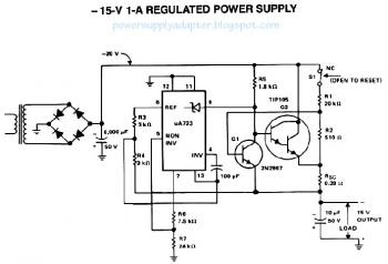 Power Supply Adapter » regulated power supply, psu