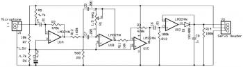 Tone Detector circuit diagram