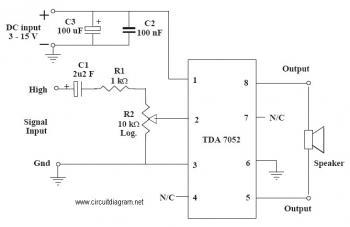 1W Mono Amplifier