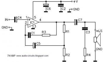Audio Circuits: September 2009 » amplifier circuit