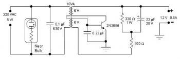 5W Simple Inverter circuit diagram