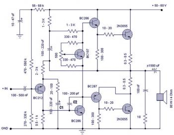 Electronic Schematic Diagram: January 2009 » audio, alarm