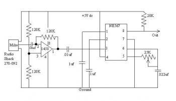 Tone Detector diagram