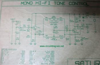 Hi-Fi Tone Control circuit diagram