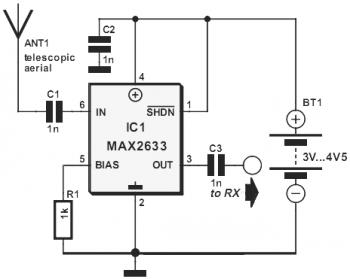 Radio Frequency Amplifier: VHF RF Preamp 100-175 MHz with