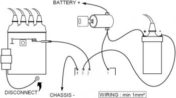 Transistor Ignition wiring diagram