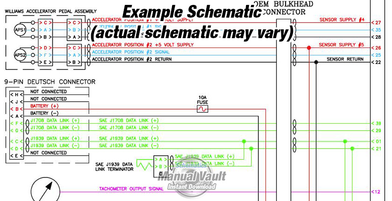 Cummins Ism Cm570 Automotive Engine Wiring Diagram Pdf Schematics Rhschematicsmanualvault: Ism Wiring Diagram At Gmaili.net