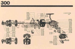 Mitchell  Mitchell 300 Schematic  Mikes Reel Repair