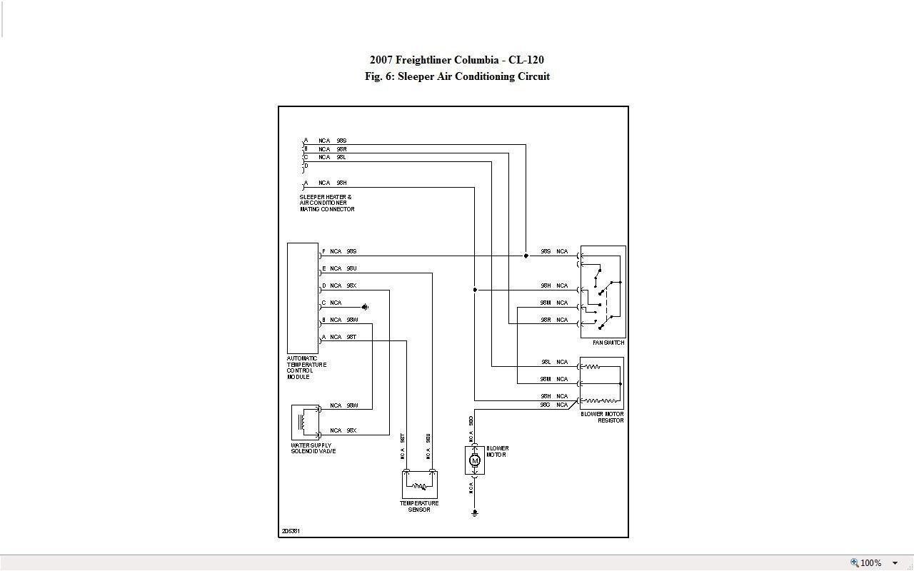 2007 Freightliner M2 Wiring Diagram