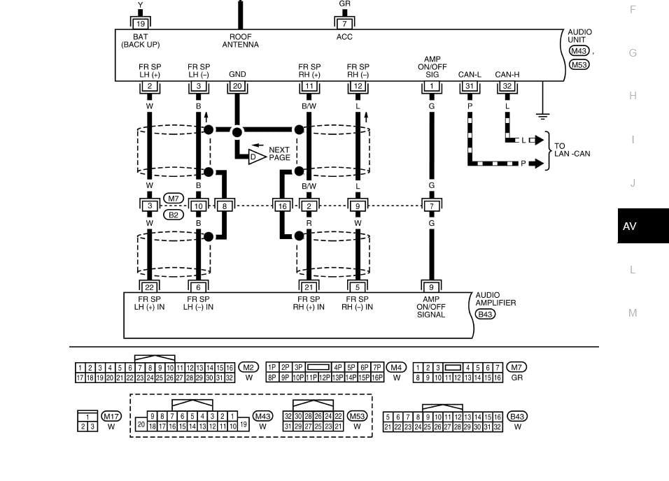 04 Nissan Titan Rockford Fosgate Wiring Diagram