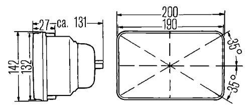 12v Wagner Halogen H6054 Wiring Diagram