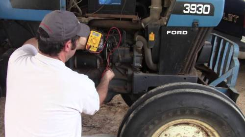 small resolution of ford tractor alternator wiring diagram