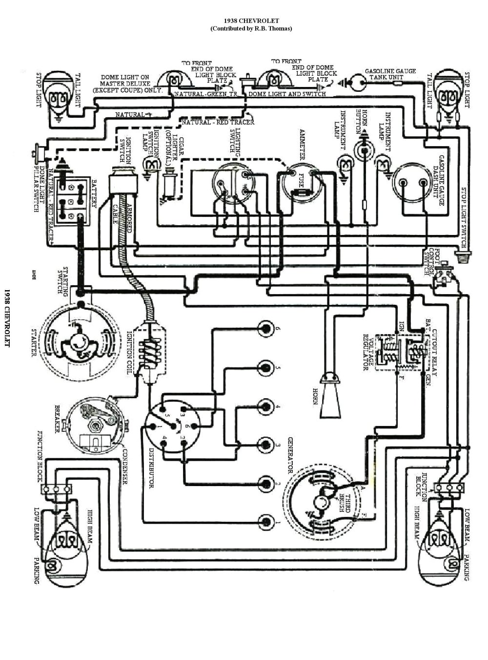 medium resolution of 1952 buick wiring diagram