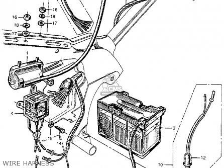 1964 Honda Ct200 Trail90 Wiring Diagram