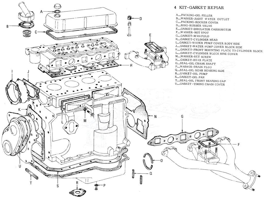 1965 Datsun 311 Wiring Diagram