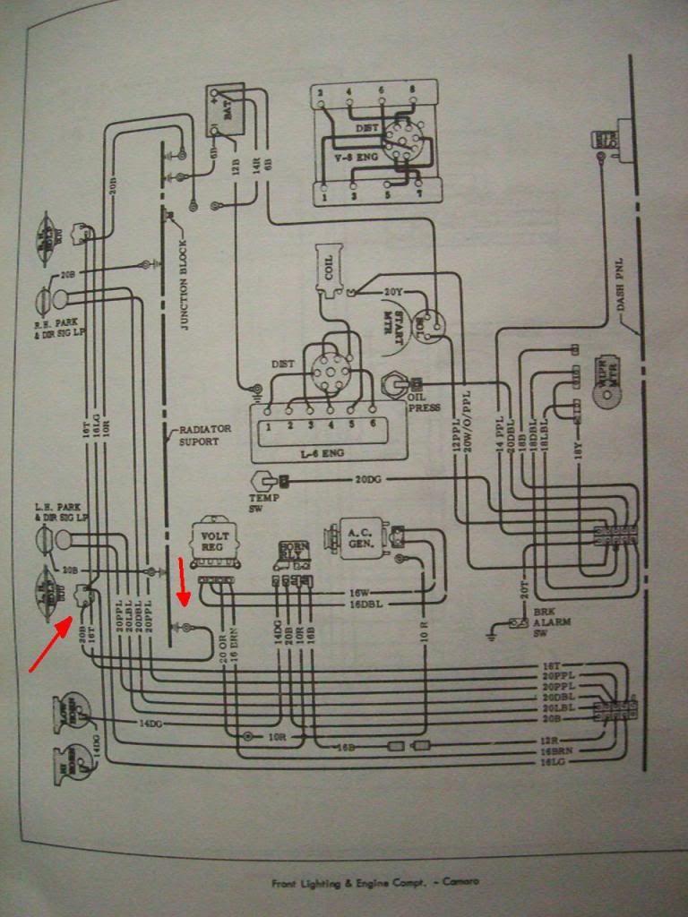 hight resolution of 1967 camaro headlight wiring diagram
