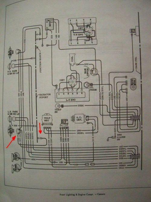 small resolution of 1967 camaro headlight wiring diagram