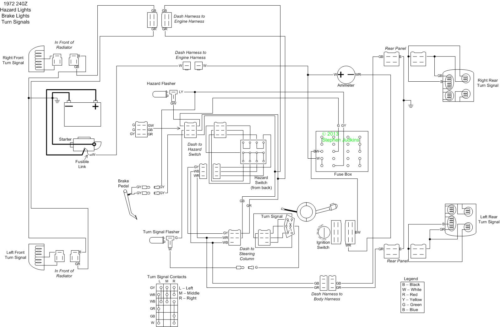 hight resolution of 75 280z wiring diagram