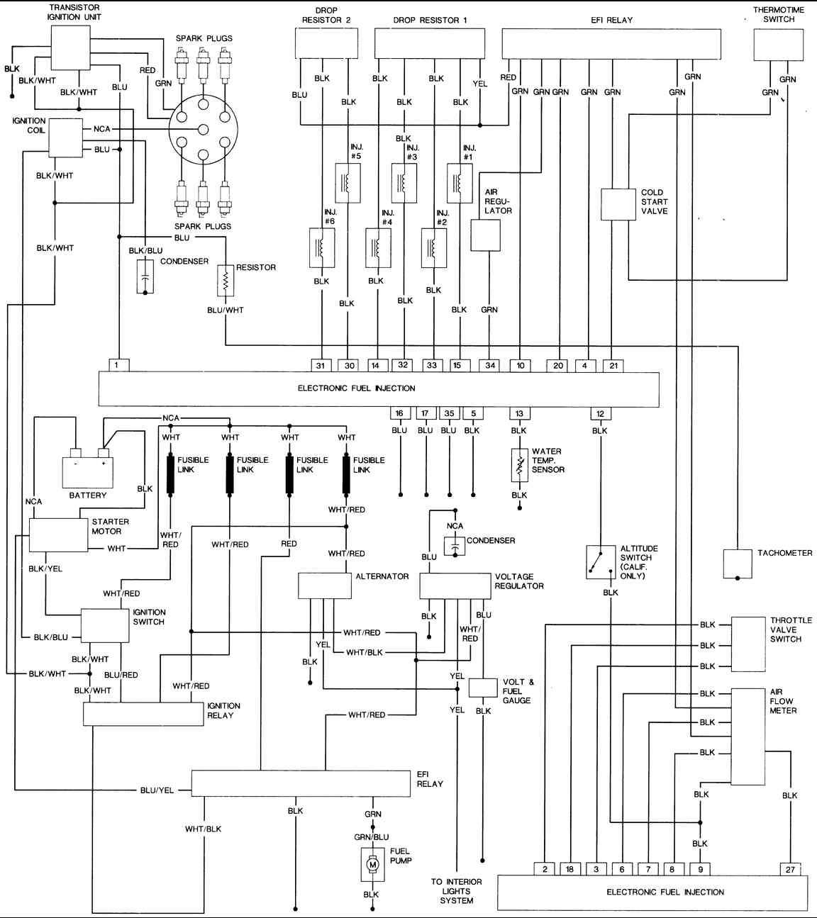 1977 Datsun 280z Iginition Wiring Diagram