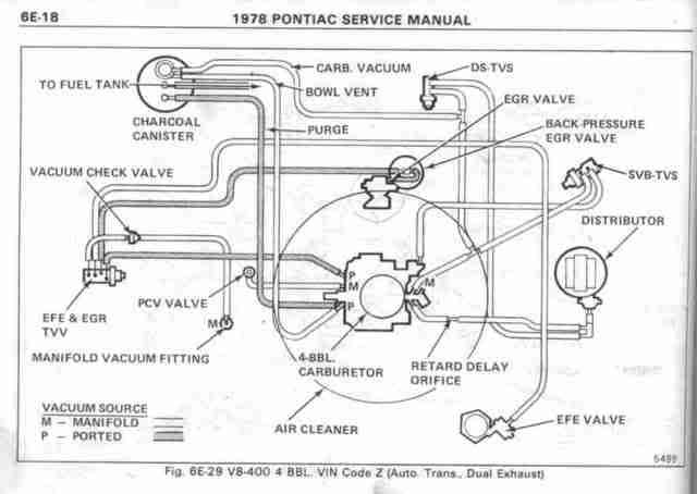 1979 Ford 351m Vacuum Diagram