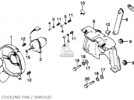 1980 Honda Goldwing Gl1100 Wiring Diagram