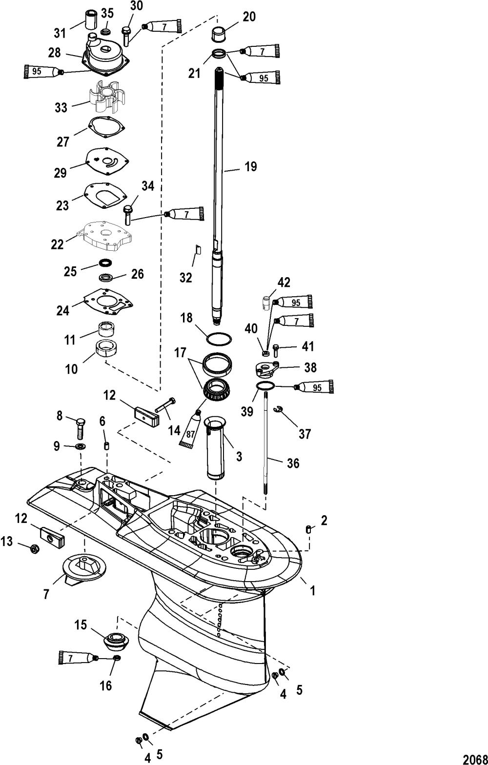 medium resolution of 1989 mercury 80 hp outboard wiring diagram