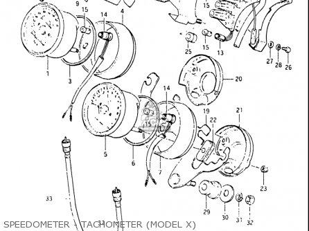 1981 Suzuki Gs650g Wiring Diagram