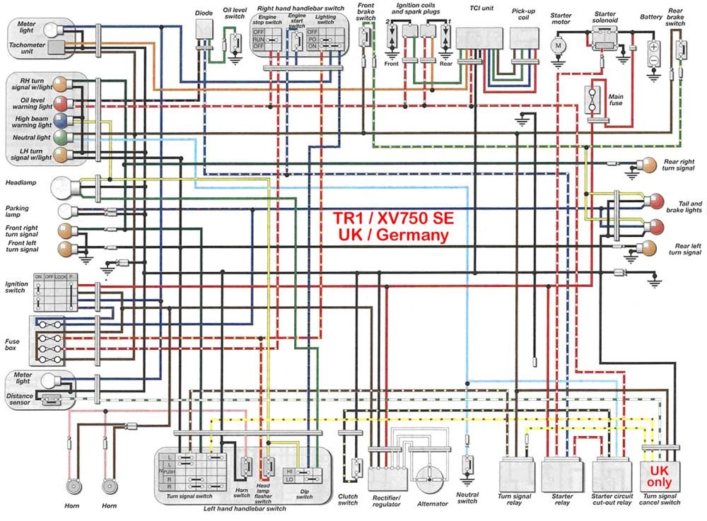 medium resolution of yamaha 1100 wiring diagram