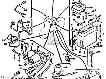 Wiring Diagram For Yamaha Motorcycles