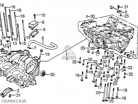 1983 Honda Cb 550 Nighthawk Wiring Diagram