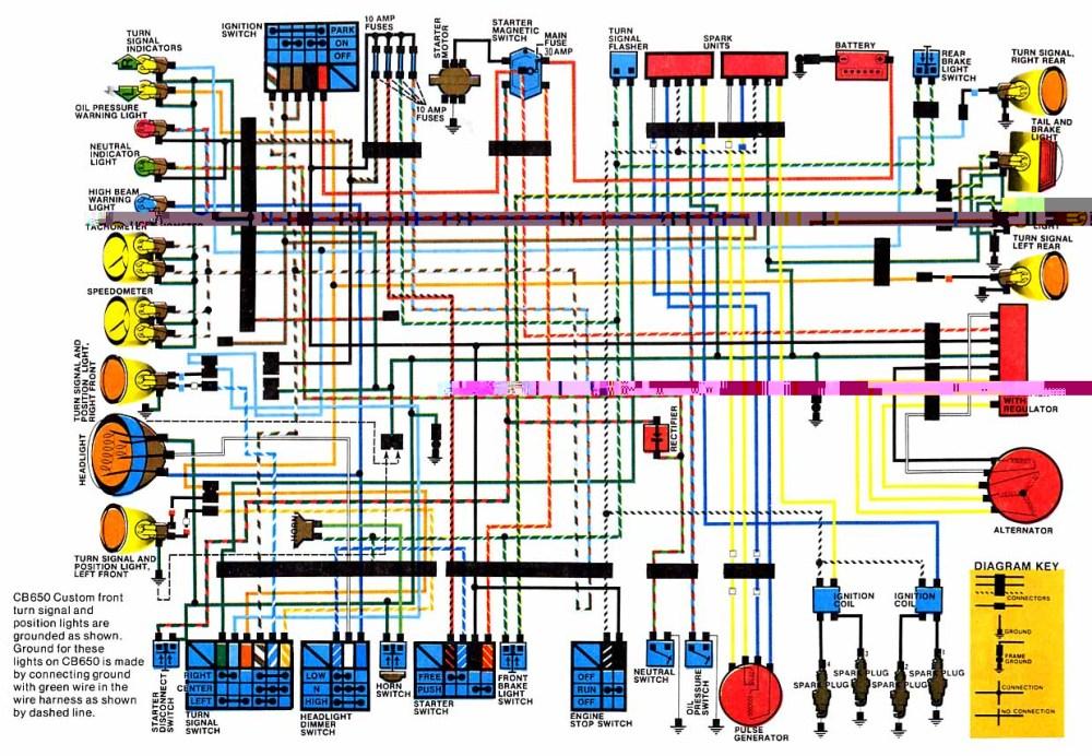 medium resolution of  1984 1984 honda nighthawk 650 wiring diagram on 1984 honda xr250r 1984 honda cr250