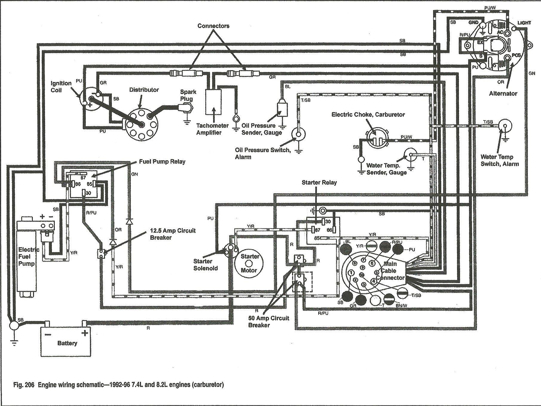 hight resolution of 1987 bayliner trophy wiring diagram