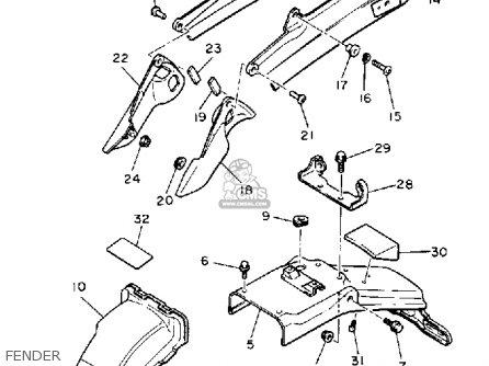 1986 Yamaha Radian Wiring Diagram