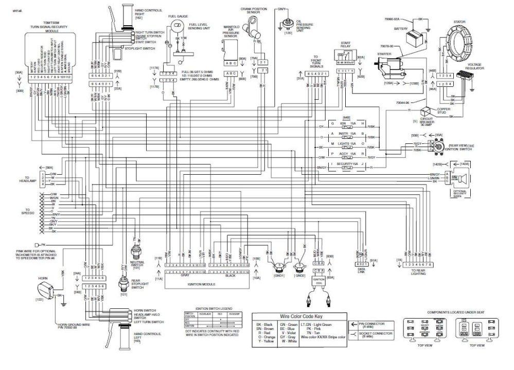 medium resolution of 1987 harley davidson softail custom with evo motor turn signals wiring diagram