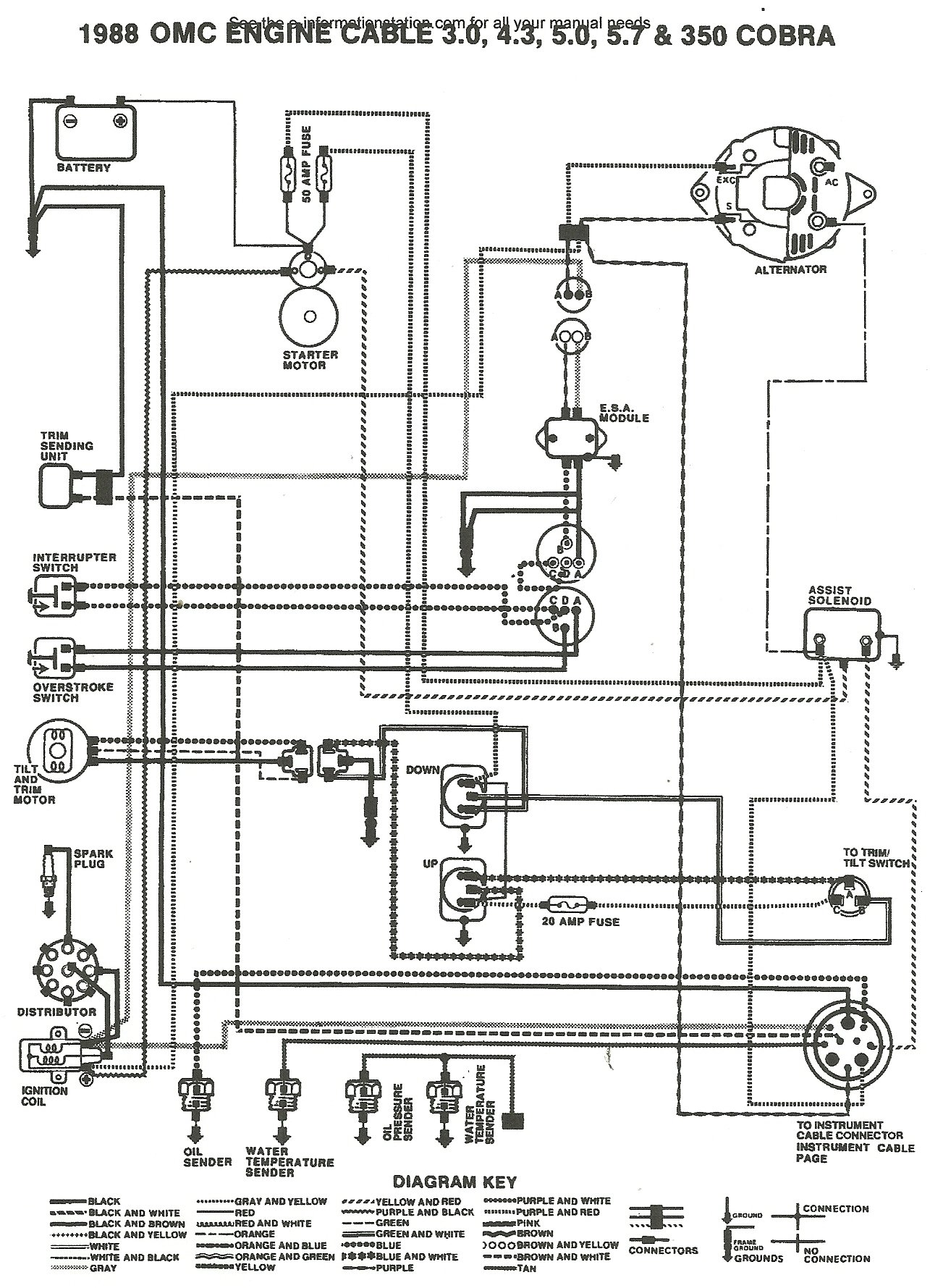 1989 4.3 Omc Cobra Ignition Wiring Diagram