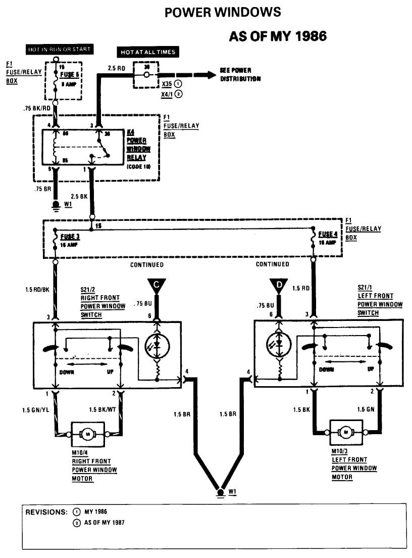 1989 560sl Mirror Switch Wiring Diagram