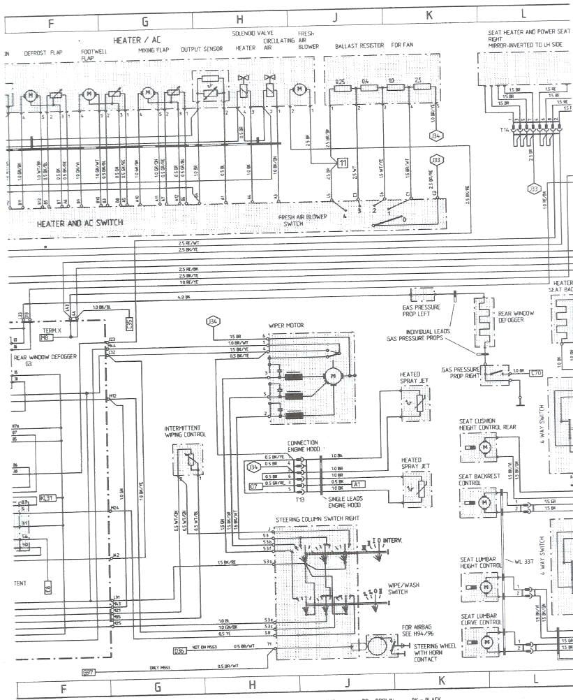 hight resolution of porsche 928 wiring diagram 1978