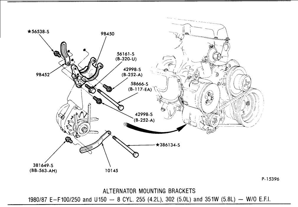 1990 F250 4.9 Alternator Wiring Diagram