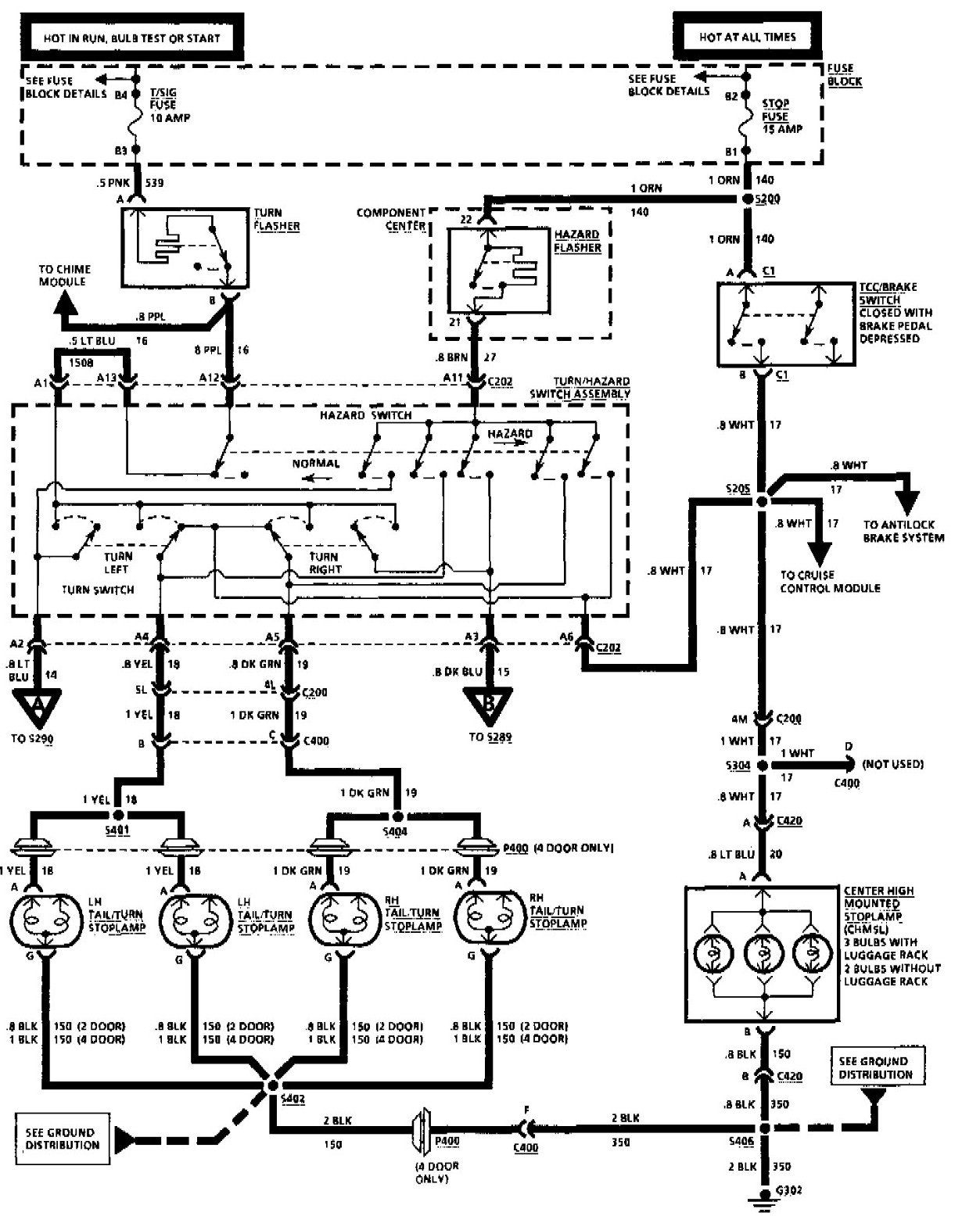 [DIAGRAM] 1996 Oldsmobile Cutlass Ciera Wiring Diagram